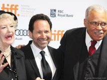 American actress Elaine Stritch, Avrich and actor James Earl Jones