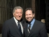 Avrich with American crooner Tony Bennett