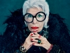 "Known as the rare bird of fashion, former Dolce cover girl Iris Apfel is Mac's latest muse. Her extraordinary flair is captured in the ""Open Armoire"" collection, which features eclectic hues that shy away from the neutral."