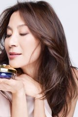 Maison Guerlain's new brand ambassador: actress and producer Michelle Yeoh.