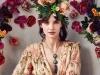 Dress: Zimmermann, Jewellery: Iordanis, Bag: Cult Gaia