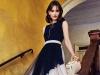 Dress: Fausto Puglisi, Jewellery: Céline, Bag: Alexander McQueen
