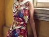 Dress & Shawl: Gucci, Earrings: Iordanis