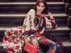 Cardigan, Blouse, Pants & Shoes: Gucci, Bag: Chanel