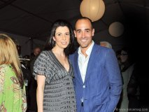 Big Night committee member and celebrity chef David Rocco with wife, Nina Rocco.