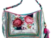 Turquoise Floral bag