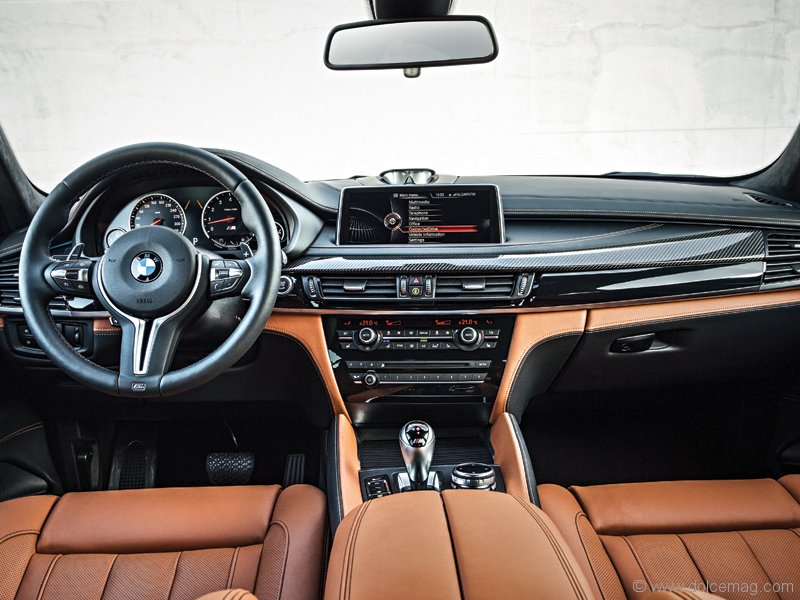 Inside The X6 M Youll Find BMWs Expected Level Of Luxurious Comfort And Design