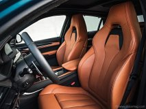 Soft Merino leather seats reflect the vehicle's merger of luxury and performance.