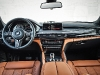 Inside the X6 M you'll find BMW's expected level of luxurious comfort and design.