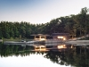 Created by Kevin Weiss of Weiss Architecture & Urbanism Limited, Boat House was designed with the active family in mind.  A large cedar dock has a storage building for kayaks, canoes and windsurfing equipment, making Boat House the ideal retreat for summer
