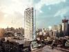 The Bond Condominiums' gleaming facade is a modern jewel in Toronto's skyline