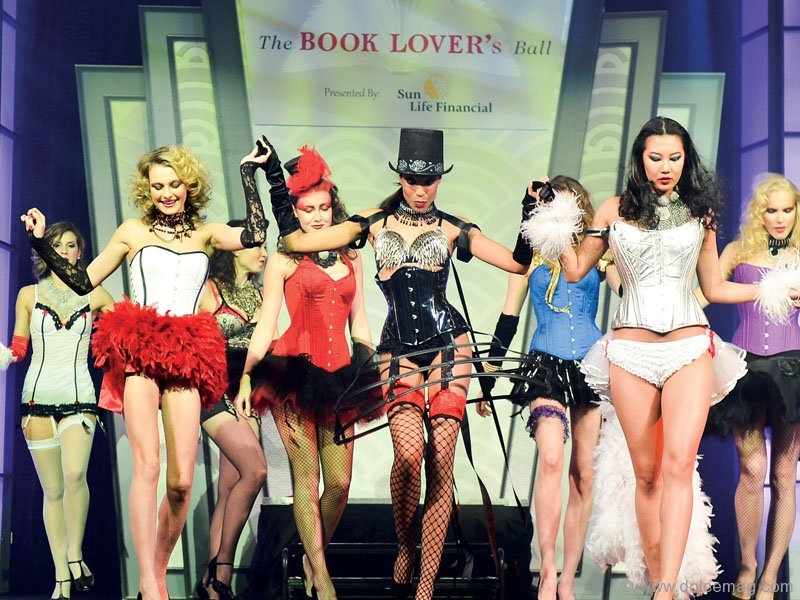 Designer Dianna DiNoble's novel-inspired fashion show