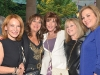 Designer Maxine Tissenbaum, Judi Gottlieb, sales representative for Prudential Real Estate, Michele Atlin, president of Michele Atlin Design Ltd., Estelle Richmond and Marsha Bronfman.