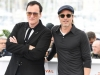 1. Quentin Tarantino and Brad Pitt attend the photocall for Once Upon a Time in Hollywood during the 72nd annual Cannes Film Festival on May 22, 2019, in Cannes, France | Photo by Daniele Venturelli