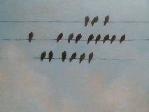 "Lot #2, ""Birds of a Feather"" by Rita Vindedzis"