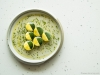 1. Zucchini agrodolce, garlic vinegar, chive & honey | Photos by Carlos A. Pinto