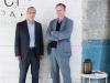 Yos Shiran, CEO of Caesarstone, and Tom Dixon