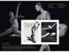 Canadian Ballet Legends Souvenir Sheet