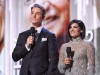CTV's Ben Mulroney and Anne- Marie Mediwake, co-hosts of Canada's Walk of Fame Awards