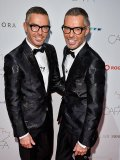 Award winners Dean and Dan Caten of the label DSquared2