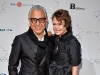 Designers Joe Mimran, creative director of  Joe Fresh, and Kimberley Newport-Mimran, designer of label Pink Tartan