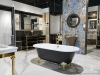 Canaroma's new showroom at 25 Torbarrie Rd. spans 20,000 square feet and includes a range of bathroom styles and designs