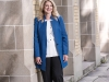 Carol Banducci, executive vice-president and chief financial officer at IAMGOLD, one of Canada's most prominent mining companies, stands on the grounds of the University of Toronto where she graduated from the BComm program