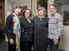 The owner of Carrera y Carrera's Yorkville location, Natalia Lisochkina (middle right), joined by the boutique's staff. | Photo By Carlos A. Pinto