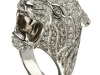 This Tiger ring exudes energy and vitality in white gold, smoky quartz and diamonds, representing the life and power within the animal kingdom.  | Photos Courtesy Of Carrera Y Carrera Canada