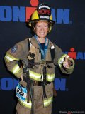 Katrina Silvia of St. Johns County Fire Rescue, Florida, pushes her body to the limits in her philanthropic adventure