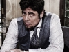 Benicio Del Toro stars in Campari\'s famed 2011 calendar entitled: The Red Affair. He is the first male face in 12 editions.