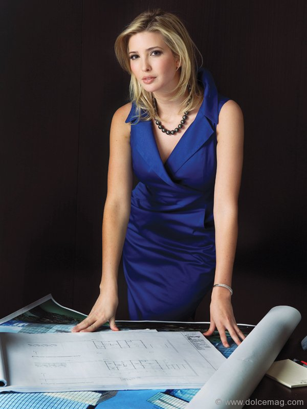 Ivanka Trump, VP of real estate development and acquisitions ...