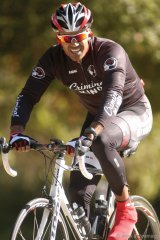 Shemar Moore is an avid cyclist, training three-to-four months a year for the annual National MS Society's Bike MS program.