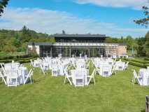 It was a beautiful day for a party at Windfields Estate in Toronto
