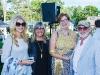 Lynne St. David-Jewison, Christina Jennings, Eleanor McMahon and Norman Jewison