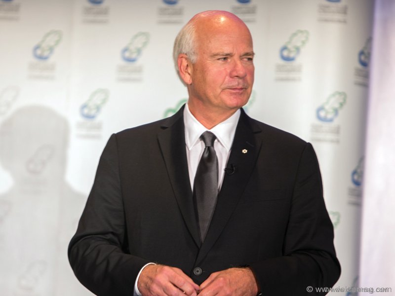 This year's Annual Chair's Dinner keynote speaker Peter Mansbridge, anchor of CBC's The National