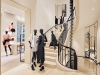 One of the most notable pieces within the boutique is Große Treppe (Great Staircase) by Gregor Hildebrandt, which was specially commissioned and reaches nearly 14 metres tall | Photos by  Olivier Saillant