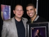 In 2006, Taylor (left, with Drake) started his own music law practice, which grew to have 10 lawyers and 500 clients, becoming the most successful practice in Canada's history | Photo courtesy of Chris Taylor