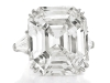 The Elizabeth Taylor Diamond: The spectacular D-colour, 33.19-carat diamond ring that the star wore virtually every day since receiving it as a gift from Richard Burton in 1968, fetched $8,818,500 against a pre-sale estimate of $2.5 – 3.5 million, and set a record price-per-carat for a colourless diamond. It sold to an Asian private collector in the room after a fierce bidding battle.