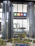 The forthcoming Expo City by the Cortel Group will include a five-tower residential development in the heart of Vaughan's future downtown hub.