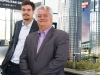 Father-and-son Mario Cortellucci and Peter Cortellucci of Cortel Group stand proud beside their impending project, Expo City.