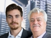 Peter Cortellucci, vice-president of Cortel Group, and Mario Cortellucci, founder and president of Cortel Group.