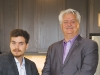 Father-and-son Mario Cortellucci and Peter Cortellucci of Cortel Group