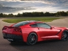 The C7 is the first Corvette to wear the Stingray emblem since 1976. Its future-present styling is an aggressive evolution over classic Vettes
