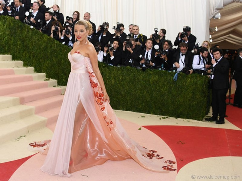 Blake Lively in Burberry