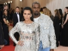 Kim Kardashian and Kanye West in Balmain