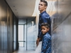 """Professional Portuguese footballer Cristiano Ronaldo currently plays forward for Spanish club Real Madrid and Portugal's national team   Photo by Michael Regan   Cristiano and Cristiano Junior spend quality father-son time modelling for the football star's CR7 clothing line and the highly-anticipated new CR7 JUNIOR collection. Cristiano's first-born is a chip off the old block. One could say he's inherited some great """"genes"""". Cristiano Junior has a knack for modelling, with a familiar million-dollar smile, and a passion for football   Photos Provided by CR7"""