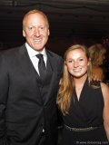 CTV's In Fashion host Glen Baxter and Olympic gold medallist Rosie MacLennan