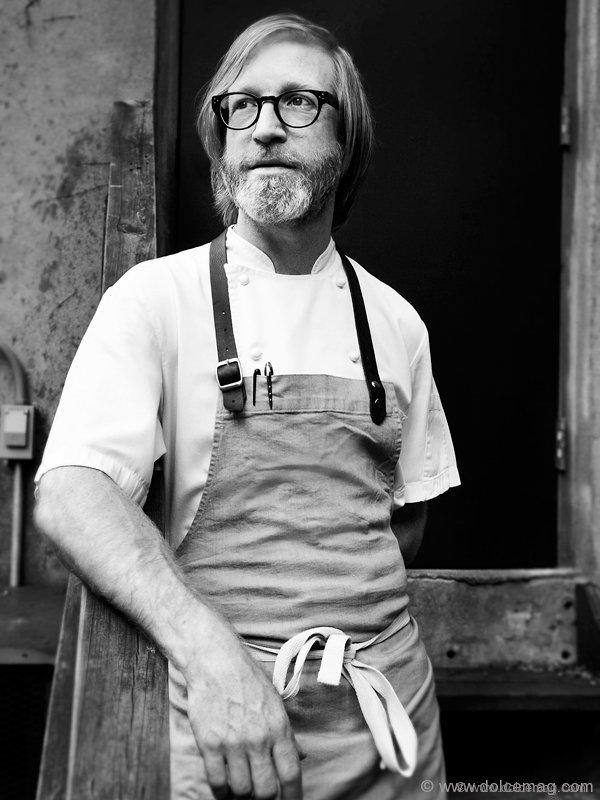 Canadian chef Daniel Burns