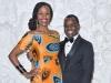 Leah Teklemariam and Ugandan LGBT+ activist Dr. Frank Mugisha